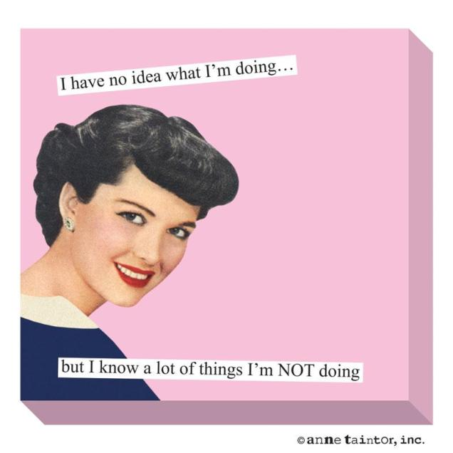 Things I'm not doing