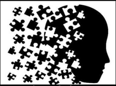 Brain with Puzzle