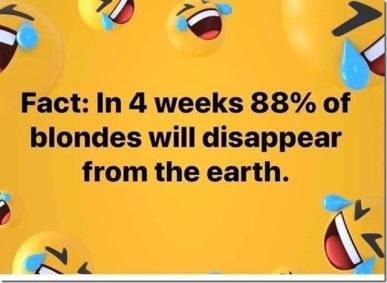Extinct Blondes