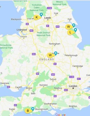 Hereford Girls Map